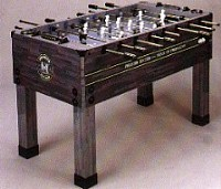 Fooseball Table with open top
