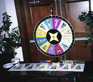 Sports Wheel of Fortune