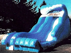 Tital Wave Inflatable Slide