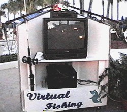 Virtual Fishing - Front View